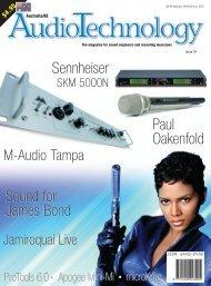 Sound for James Bond Paul Oakenfold Sound for James ... - M-Audio