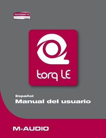 Manual de instrucciones de Torq LE - M-Audio