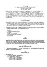 Verordnung zur Aufrechterhaltung der öffentlichen Sicherheit in der ...