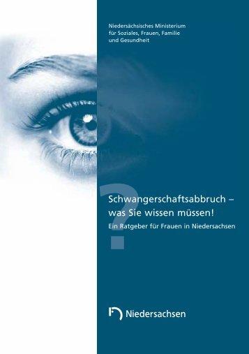 Schwangerschaftsabbruch - Braunschweig - Stadt Braunschweig