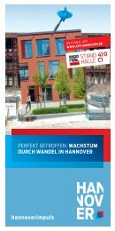 Flyer EXPO REAL 2012 - hannoverimpuls