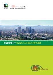 ÖKOPROFIT® Frankfurt am Main 2007/2008
