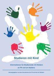 Studieren mit Kind - Fachhochschule Koblenz