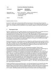 Aan : Commissie Stedelijke Ontwikkeling Onderwerp ... - Utrecht.nl