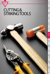 CUTTING & STRIKING TOOLS - M10 Tools