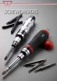 Click here for our range of screwdrivers (PDF)