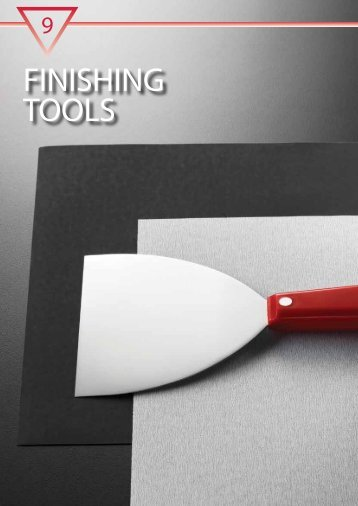 our range of finishing tools (PDF) - M10 Tools