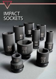 our range of impact sockets (PDF) - M10