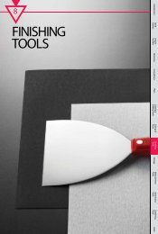 FINISHING TOOLS - M10 Tools