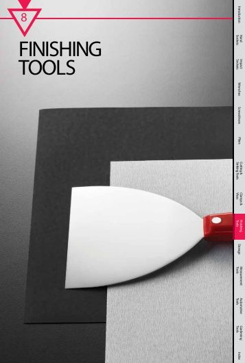 FINISHING TOOLS - M10 Tools