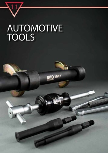 our range of automotive tools (PDF) - M10 Tools