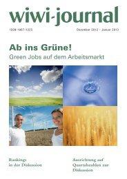 Ab ins Grüne! - WiWi-Journal