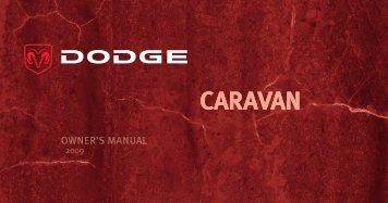 2009 Dodge RT Caravan Owner Guide