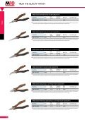 Click here for our range of pliers (PDF) - Page 2