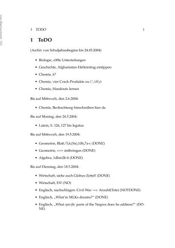 1 ToDO - M19s28.dyndns.org