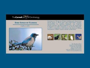 Bird Songs of Florida - Macaulay Library