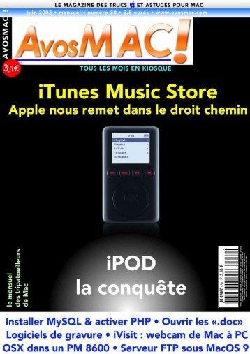 AVM n°30 - juin 2003 - Bibliothèque - Free