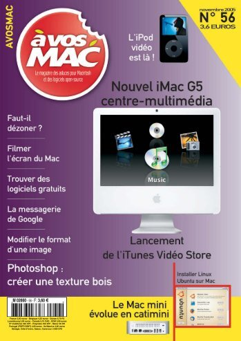 A vos MAC - Bibliothèque - Free
