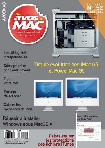 A vos MAC - Le magazine des astuces sur Macintosh et des ...