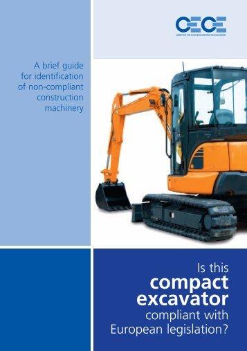 compact excavator - Market Surveillance | Industry's Support Platform