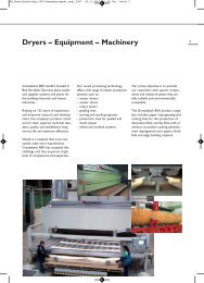 Dryers – Equipment – Machinery