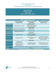 Full Session Schedule 2013 - Macromarketing Society Inc.