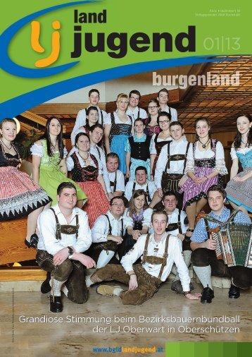 Burgenland - Ausgabe 01/2013 - Landjugend Österreich