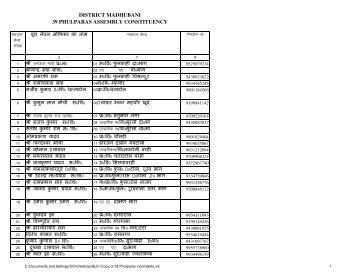 Copy of 39 Phulparas incomplete - Madhubani