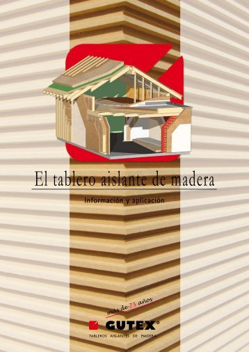 El tablero aislante de madera - Madertac