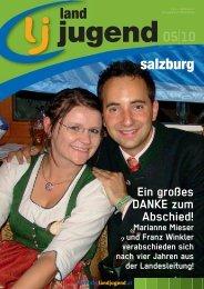 Salzburg Ausgabe 05/2010 - Landjugend Österreich