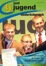 Niederösterreich Ausgabe 04/2010 - Landjugend Österreich