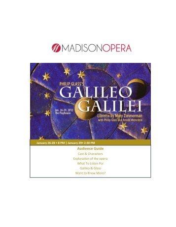 Galileo Galilei guide - Madison Opera