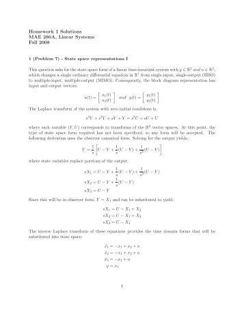 Matlab homework solutions