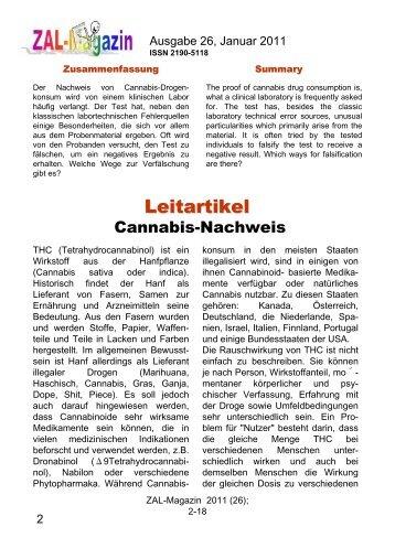 Leitartikel Als Pdf Mit Quellenangabe Und Cme Zal Magazin
