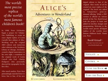 Alice's Adventures in Wonderland - Adobe
