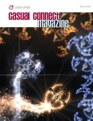 Download .pdf - magazine & cover archive - Casual Connect