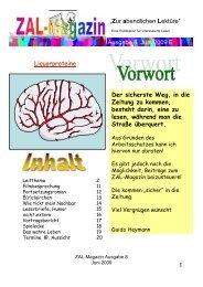 Liquorproteine - ZAL-Magazin