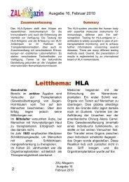 Leitartikel als pdf - ZAL-Magazin