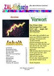 Borreliose - ZAL-Magazin