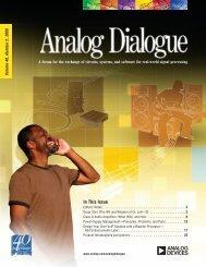 Analog Dialogue Volume 40, Number2, 2006