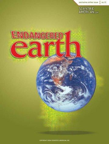 Endangered Earth