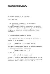 ON VOLTERRA EQUATIONS OF THE FIRST KIND Gustaf ...