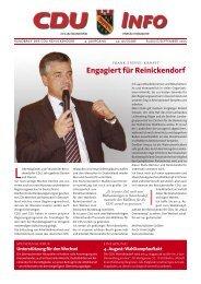 Engagiert für Reinickendorf - CDU Reinickendorf