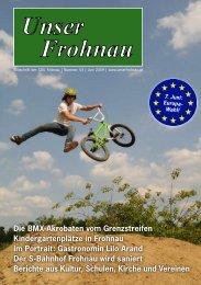 Unser Frohnau - CDU Frohnau - CDU Reinickendorf