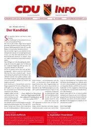 Der Kandidat - CDU Reinickendorf