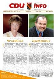 Wir schaffen es! Zukunft gestalten - CDU Reinickendorf