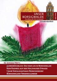 In diesem Heft: - CDU Reinickendorf