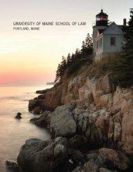 University of Maine School of Law - University of Maine System