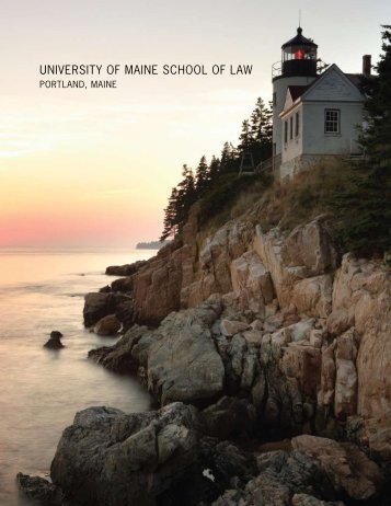 University of Maine School of Law - University of Maine System