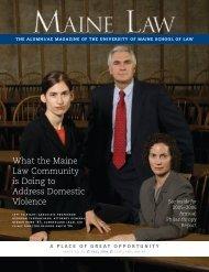 USM 0449 ME LawMag - University of Maine School of Law ...